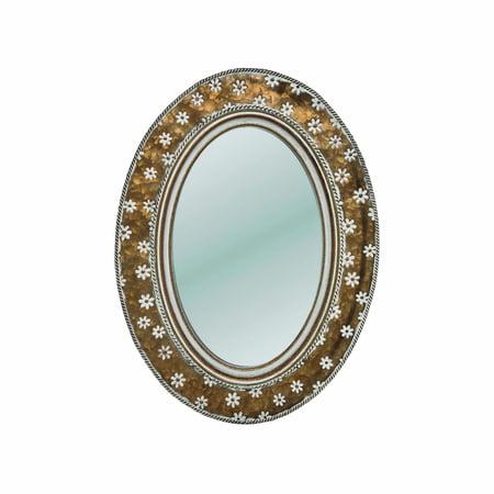 Brass Alden Mirror ()