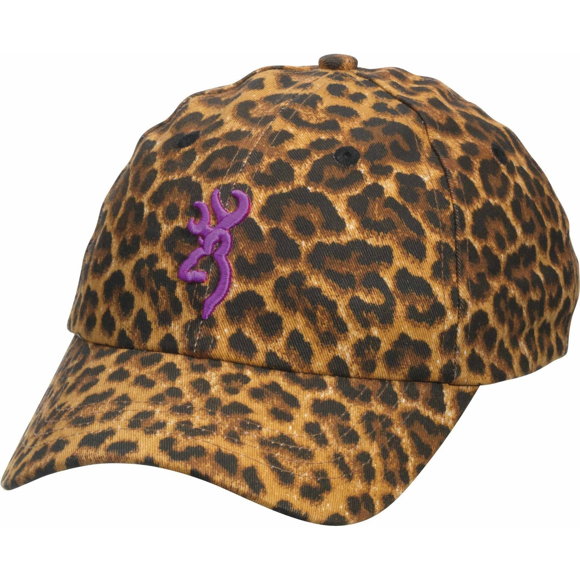 104806 Browning Sahara Leopard/Purple Cap