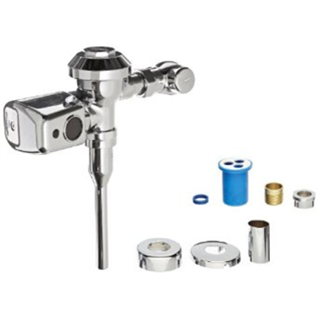 ZURN INDUSTRIES Automatic Flush Valve,Toilet,Diaphragm ZER6000PL-HET-CPM