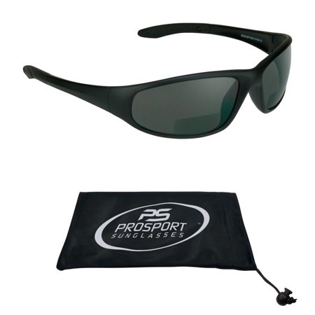 Sun Reader Bifocal Sunglasses Z87 Safety Rated Sports Wrap +1.50 (Syn Glass)