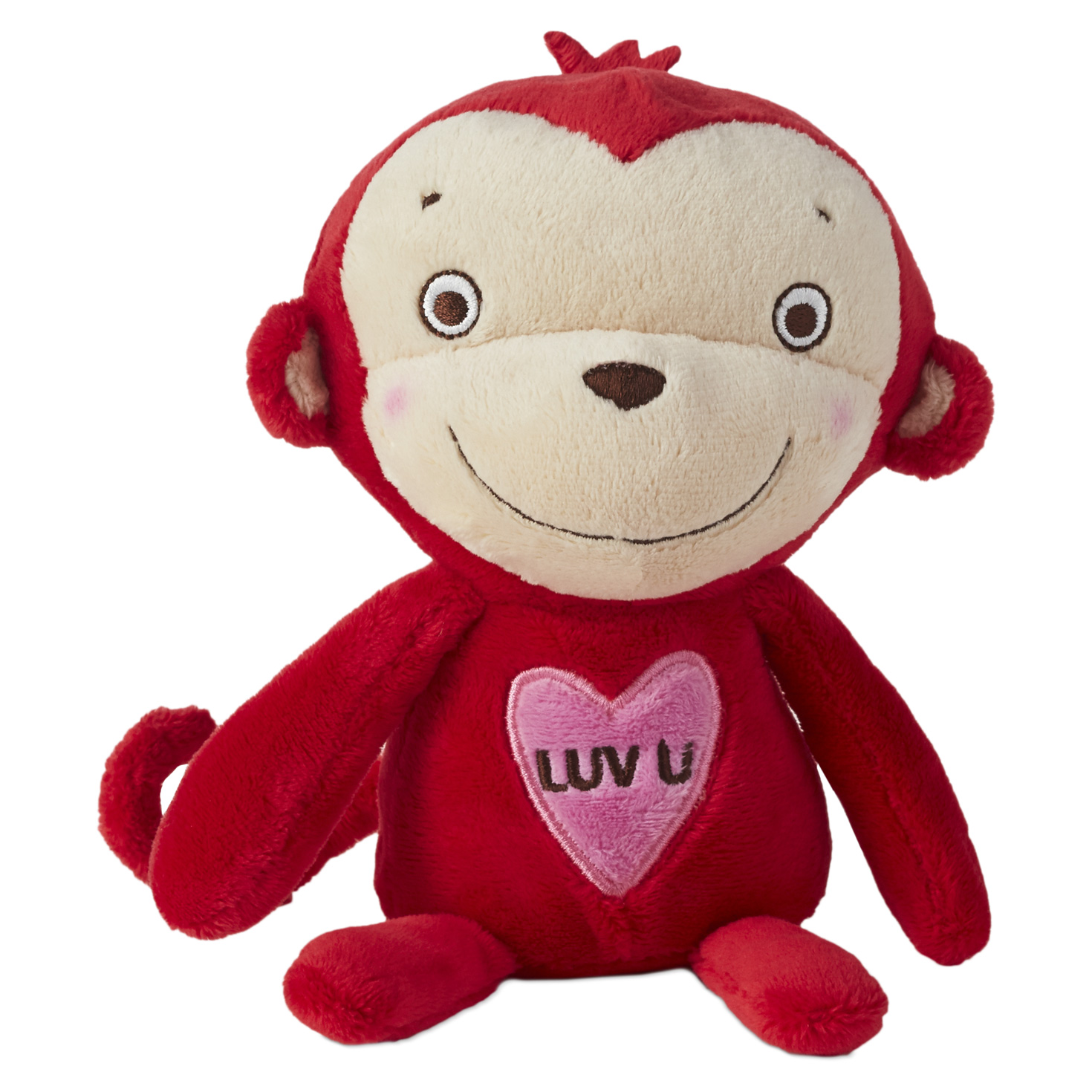 Luv Monkey Stuffed Animal by Hallmark