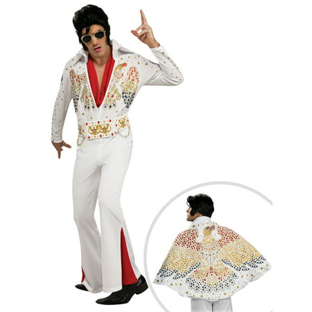 Men's Deluxe Elvis Presley Costume and Adult Elvis - Priscilla Presley Halloween
