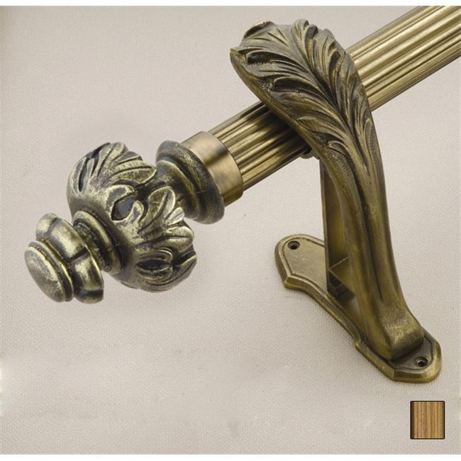 WinarT USA 8. 1072. 30. 30. 240 Palas 1072 Curtain Rod Set - 1. 25 inch - 94 inch
