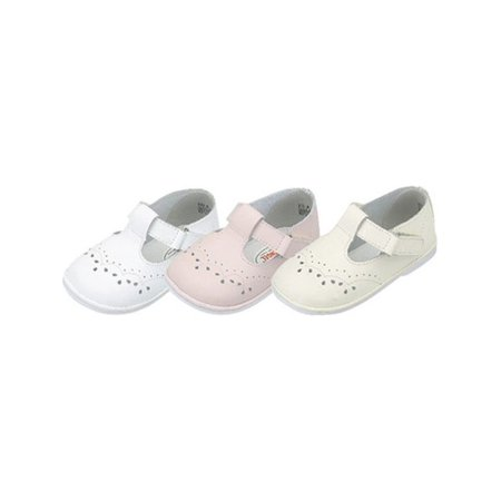 Baby Toddler Girls Eyelet Design Mary Jane Trendy Shoes Size - Girls White Shoes For First Communion