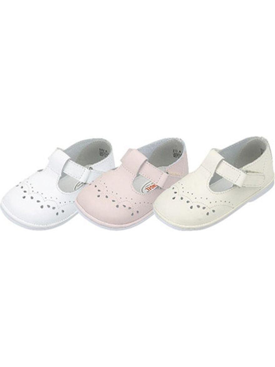 Baby Toddler Girls Eyelet Design Mary Jane Trendy Shoes Size 1-7