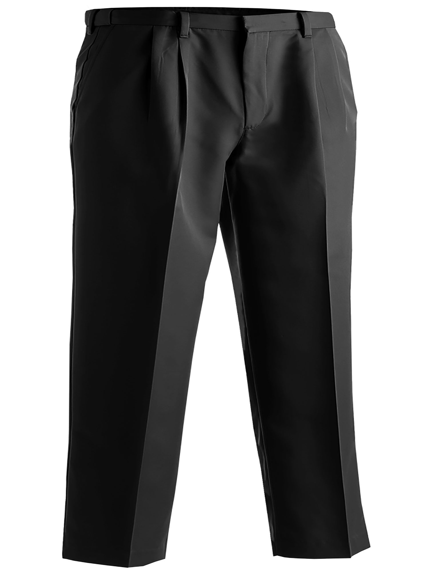 Edwards Garment Men's Pleated Front Brass Zipper Dress Pant, Style 2674