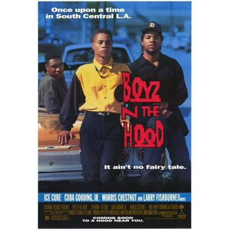 Hood Movie Poster (Pop Culture Graphics MOVCF9319 Boyz N The Hood Movie Poster Print, 27 x 40)