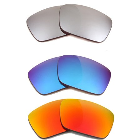 ede334ff159 Best SEEK Polarized Replacement Lenses for Oakley FUEL CELL Red Silver Blue  Image 1 of 4