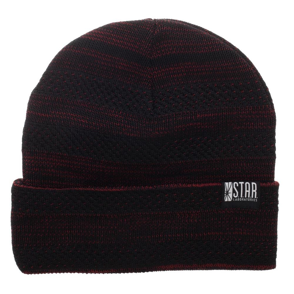 Beanie Cap - DC Comcis - Flash Fly Knit New kc78unfla - image 1 of 2