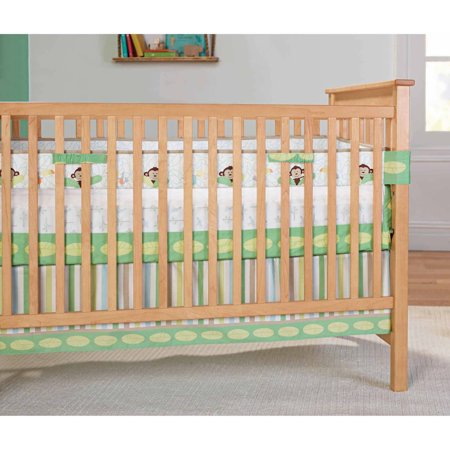 Garanimals Tropical Tree Top Fresh Air Crib Liner