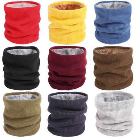 f25d49b7e3d62 Polar Fleece Neck Warmer Snood Scarf Hat Unisex Thermal Ski Wear Snowboard  Winter Sports