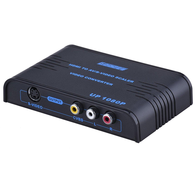 Goodes HDMI to RCA Converter HD 1080P Composite Video 3RC...