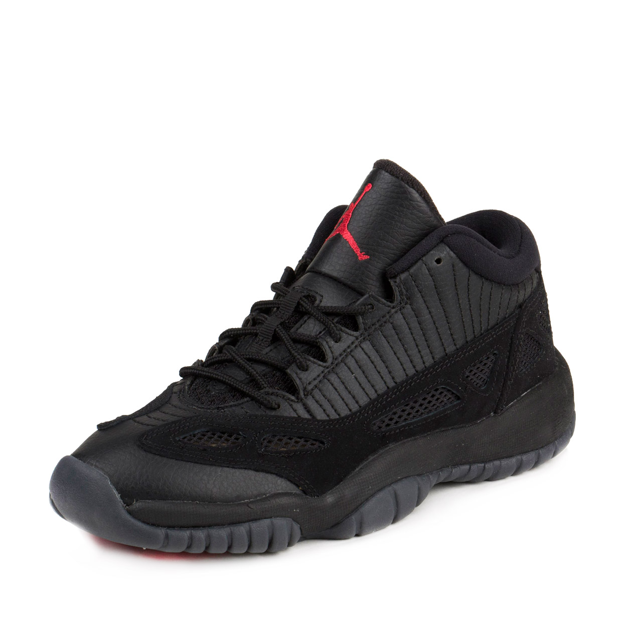 b414bdb55c2f ... buy nike mens air jordan 11 retro low bg referee black true red 3e806  b726f