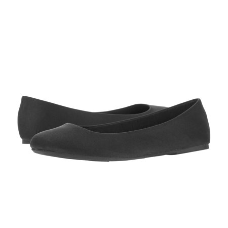 Time and Tru Women's Wide Width Basic Ballet Flat