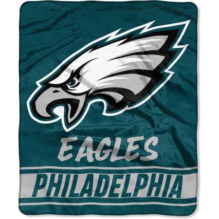 "Philadelphia Eagles The Northwest Company 50"" x 60"" Stabilize Raschel Plush Throw Blanket - No Size"