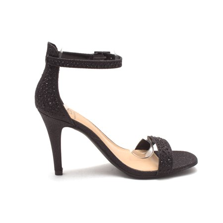 Material Girl Womens Blaire4 Open Toe Casual Ankle Strap - image 1 of 2