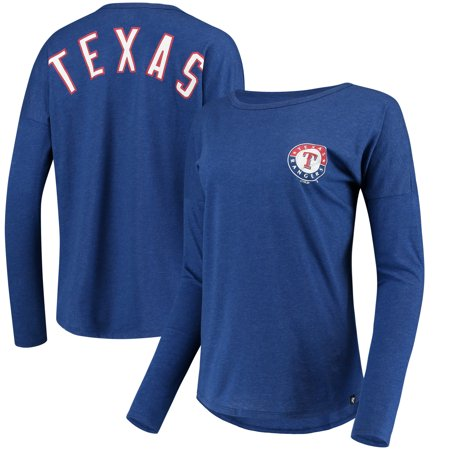 Texas Ranger Badge (Texas Rangers '47 Women's Courtside Long Sleeve T-Shirt -)