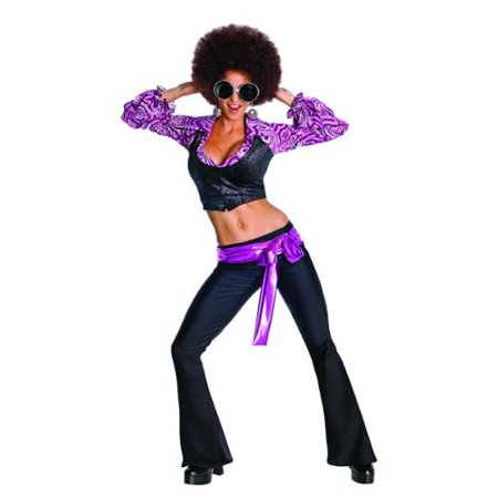 Disco Inferno Womens 70S 1970'S Decades Halloween Costume](Infernos Halloween 2017)