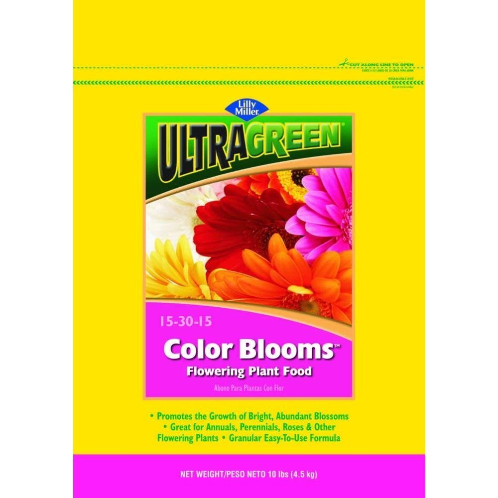 Color Blooms Fertilzer, 10 lb., 15-30-15 NPK By Lilly Miller