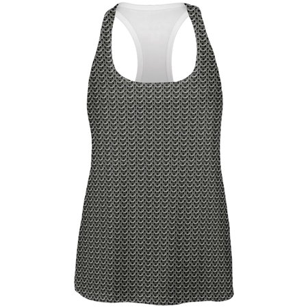 Halloween Chainmail Costume All Over Womens Work Out Tank Top