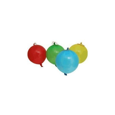 Classic Punch Ball Balloon - 8 Pack - Assorted Colors by, 8 pack of punch ball balloons By JaRu](Punch Balloons)