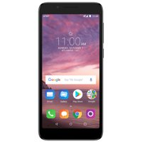 AT&T PREPAID Alcatel idealXTRA 16GB Prepaid Smartphone, Black