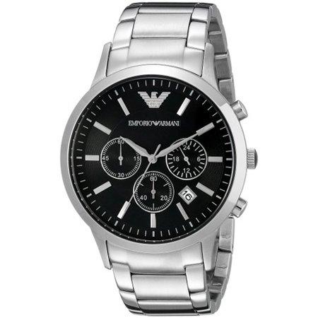 emporio armani chronograph men 39 s watch ar2434. Black Bedroom Furniture Sets. Home Design Ideas
