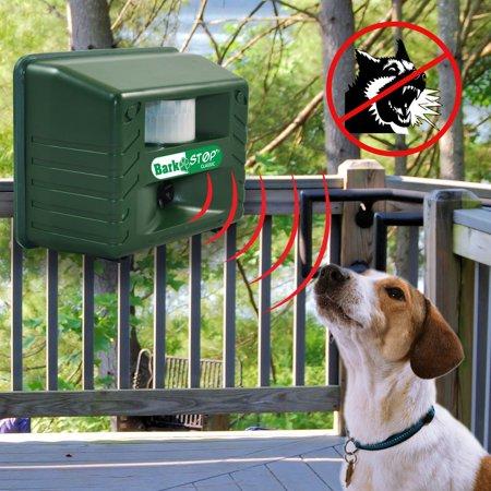 Aspectek Ultrasonic Animal Pets Repeller, Bark Stop, Dog Silencer Bark Controller, Stop Barking , 5000 ft2 coverage, with Adjustable Dials Weather Resistant Stop Dog Barking