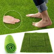 Essen Synthetic Artificial Grass Mat Turf Lawn Garden Landscape Ornament Home Decor