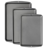 Wilton Bake It Better Non-Stick Baking Pan Set, 3-Piece