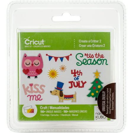 Cricut Shape Cartridge Create A Critter 2 ()