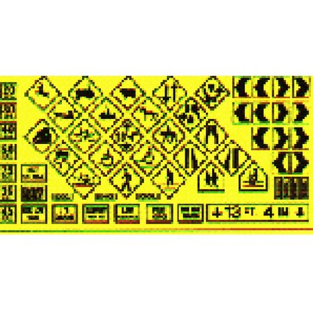 Blair Line Ho Scale Building - Blair Line 105 HO Scale Warning Signs #1
