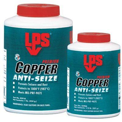 Copper Anti-Seize,Jar,16 oz. Net Weight LPS 02910