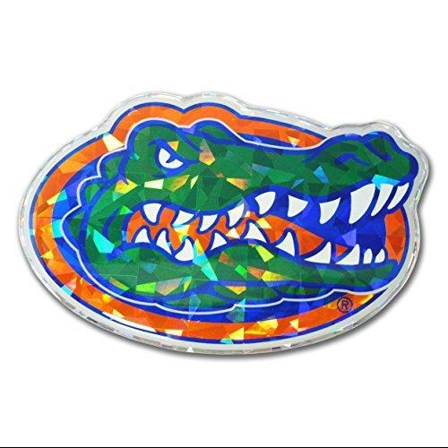 Florida Gators Color NCAA Reflective 3D Decal Domed Sticker Emblem