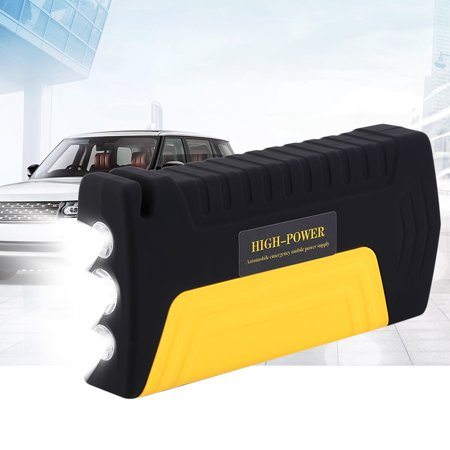 (Portable Car Jump Starter, Portable 68800mAh 4 USB Auto Car Jump Starter Booster Power Bank Battery Car Jump Starter TM15A)