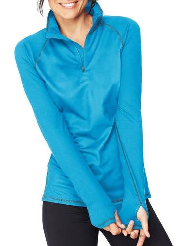 Sport Women's Performance Fleece Quarter Zip Pullover by Hanes Women's Activewear