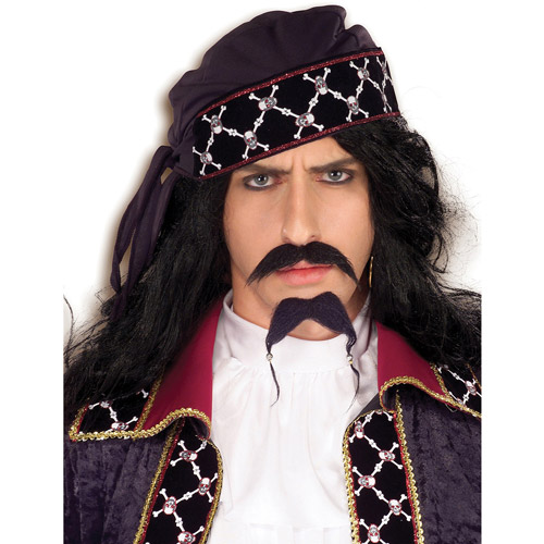 Pirate Mustache and Beard Adult Halloween Accessory