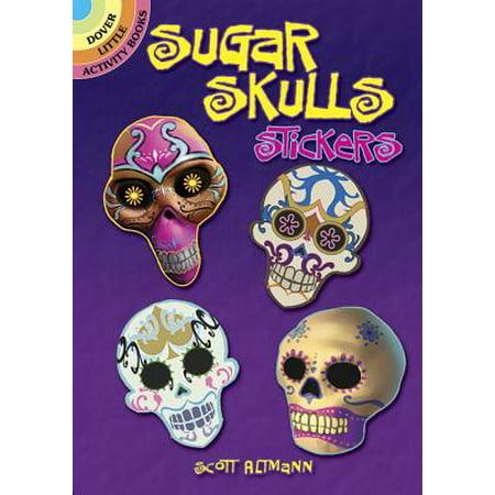 Sugar Skulls Stickers - Sugar Skull Tutorial