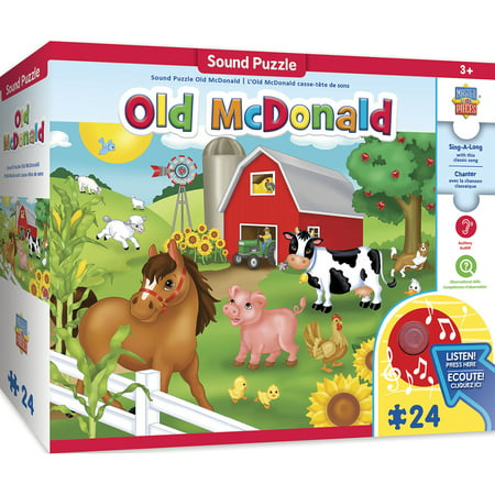 Old Macdonald Sing Along (Sing-A-Long Old McDonald - 24 Piece Kids Puzzle with 30s Sound Chip)