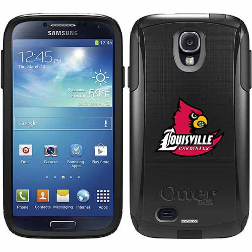 University of Louisville Cardinal Design on OtterBox Commuter Series Case for Samsung Galaxy S4