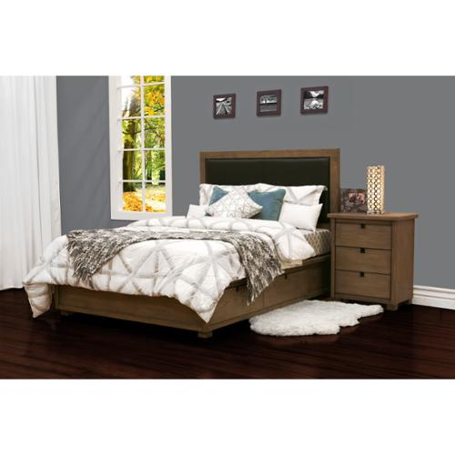 JOHN BOYD DESIGNS Allegro Queen Platform Storage Bed