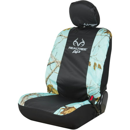 Realtree APC Mint Camo Low-Back Seat Cover