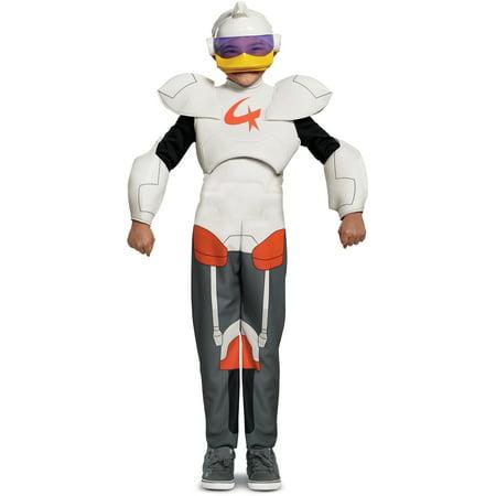 Child's Boys Duck Tales Gizmo Duck Superhero Robot Deluxe - Gizmo Gremlins Costume
