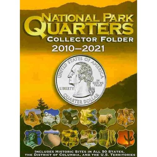 National Park Quarter Single Mint Folder