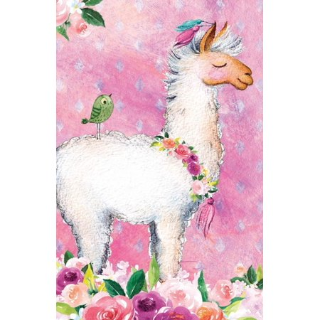 Blank Notebooks (Journal Notebook for Animal Lovers Llama in Flowers: Blank Journal to Write In, Unlined for Journaling, Writing, Planning and Doodling, for Women, Men, Kids, 160 Pages, Easy to Carry Size)
