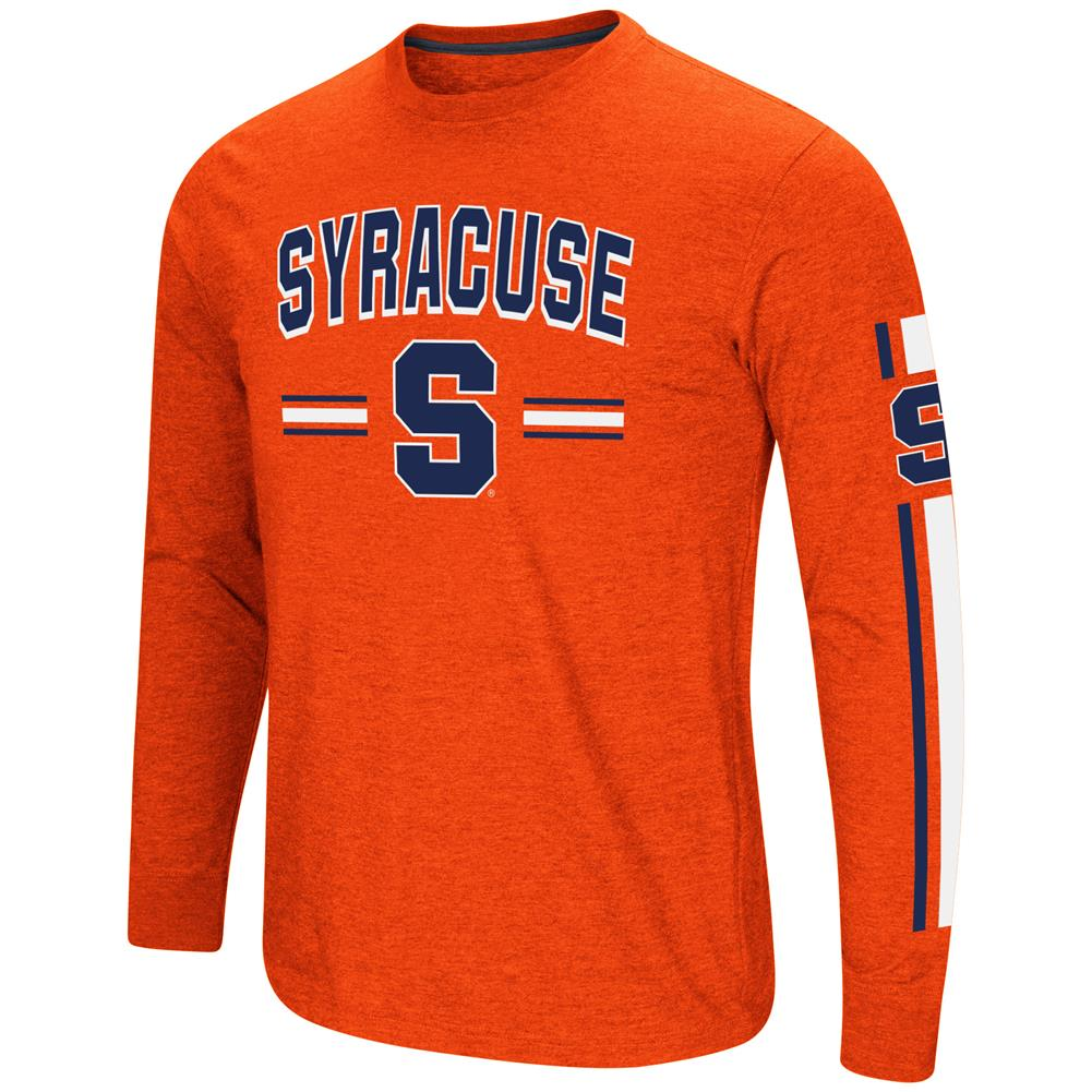 Syracuse University Men's Long Sleeve Touchdown Pass Tee