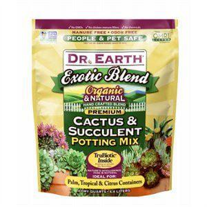 Earth Mix (Dr Earth Inc 4QT Cact/Succ Pott Mix 12 Pack)