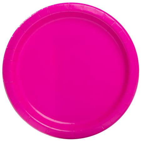 Paper Plates 9 in Neon Pink 20ct – Walmart Inventory #1: 507f6bf8 ccdc 431e ba59 7851c3270f5a 3 f97f4f df7e06ecc9a0b8483b odnHeight=450&odnWidth=450&odnBg=ffffff