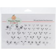 Peachy Keen Stamps Clear Face Assortment 34/pkg-zombies