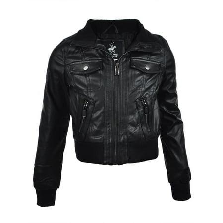 Beverly Hills Polo Club Girls' Moto Jacket - Girls Moto Jacket